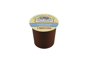 Single Serve French Vanilla Cappuccino Grove Square - 12.7 oz.