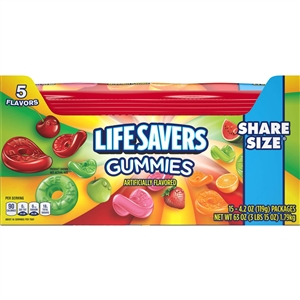 Life Savers Gummies 5 Plain Pouch