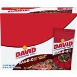 David Sunflower Seeds In Shell Barbecue Tubes Unpriced - 1.62 Oz.