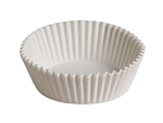 White Paper Baking Cup - 5.5 in.