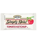 Ketchup Single Serve Simply Heinz - 9 gm.