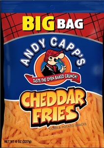 Andy Capp Cheddar Fries - 8 Oz.