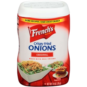 Frenchs French Fried Onion Original - 2.8 Oz.