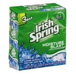 Irish Spring Bar Soap Moisture Blast 3 Bar - 3.75 Oz.