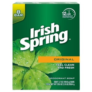 Irish Spring Original Bar Soap 8 Bar - 30 Oz.
