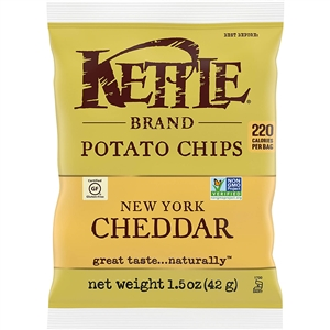 Kettle Chips New York Cheddar - 1.5 Oz