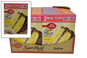 Betty Crocker Supermoist Yellow Cake Mix - 15.25 oz.
