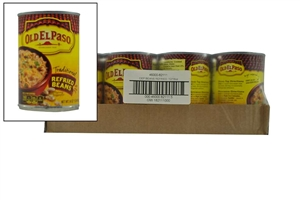 Old El Paso Beans Refried Small - 16 Oz.