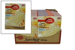 Betty Crocker Super Moist Cake Mix White - 16.25 Oz.