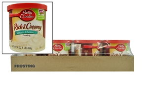 Betty Crocker Frosting Rich and Creamy Cream Cheese - 16 Oz.