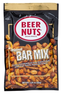 Beer Nuts Bar Mix VP Bag - 3.25 oz.