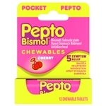 Pepto Bismol To Go Cherry Chewable Tablet