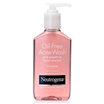 Neutrogena Oil Free Acne Wash Face Pink Grapefruit Cleanser  - 6 Oz.