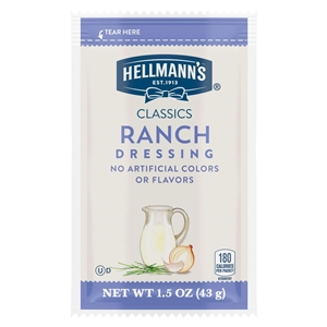 Hellmanns Creamy Ranch - 1.5 Oz.