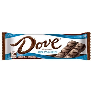 Dove Milk Chocolate Singles - 1.44 oz.