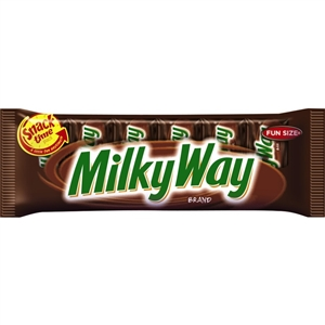 Milky Way Fun Size Candy Bar - 3.36 oz.