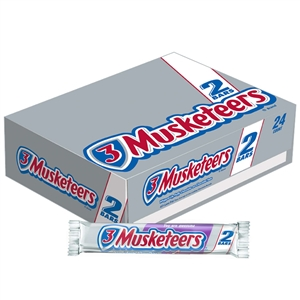 3 Musketeers King Size Multi Piece Candy Bar