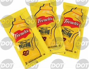 Frenchs Mustard Classic Yellow Packets - 0.015 Lb.