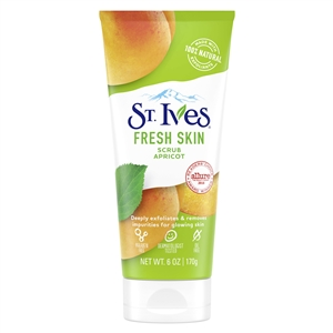 St. Ives Fresh Skin Invigorating Apricot Scrub - 6 Oz.