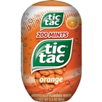 Tic Tac Candy Orange Bottle Pack