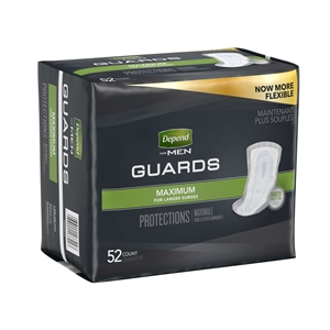 Depend Guards Max Absorbent For Men