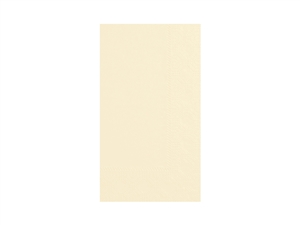 Dinner Napkin Ecru 2 Ply - 15 in. x 17 in.