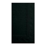 2 Ply Dinner Napkin Black - 15 in. x 17 in.