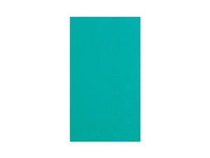 Dinner Napkin Teal 2 Ply - 15 in. x 17 in.