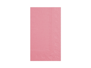 Dinner Napkin Dusty Rose 2 Ply - 15 in. x 17 in.