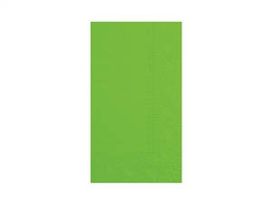 Fresh Lime Paper Dinner Napkin 2 Ply - 15 in. x 17 in.