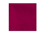 Beverage Burgundy Napkin 2 Ply - 9.5 in. x 9.5 in.