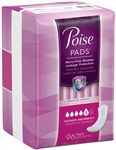 Poise Max Absorbent Maxi Pads With Side Shields