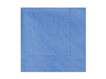 Beverage Marina Blue Napkin 2 Ply - 9.5 in. x 9.5 in.