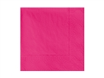 Beverage Raspberry Napkin 2 Ply - 9.5 in. x 9.5 in.
