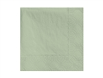 Beverage Soft Sage Napkin 2 Ply - 9.5 in. x 9.5 in.