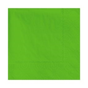 Beverage Fresh Lime Napkin 2 Ply - 9.5 in. x 9.5 in.