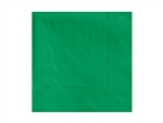 Beverage Napkin Jade 2 Ply - 9.5 in. x 9.5 in.