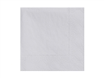 Beverage Napkin Dove Gray 2 Ply Fold Paper - 9.5 in. x 9.5 in.