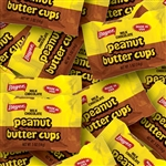 Peanut Butter Cup Milk Chocolate Wrapped Bulk CS - 0.5 oz.