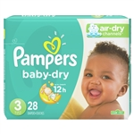 Pampers Baby Dry Diapers Conversion Pack Size 3