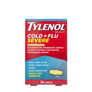 Tylenol Cold and Flu Severe Caplets
