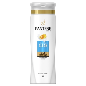 Pantene Classic Shampoo Conditioner 2-In-1 - 12.6 Oz.