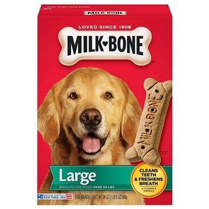 Milk Bone Dog Treats Original Biscuit Large - 24 oz.