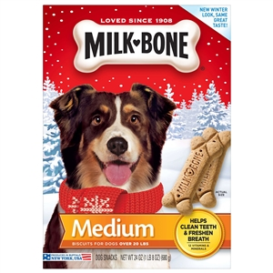 Milk Bone Dog Treats Original Biscuit Medium - 24 oz.
