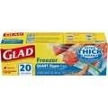Glad Freezer Zipper Quart