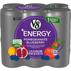 V8 Fusion Energy Pomegranate Blueberry Signature - 48 Fl. Oz.