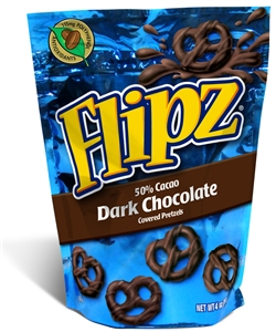 Flipz Dark Chocolate Pretzel - 4 oz.