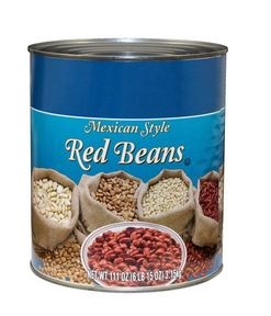 Beans Mexican Style Chili Can