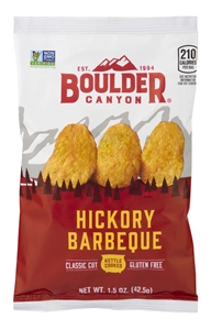 Hickory Barbeque Potato Chips - 1.5 Oz.
