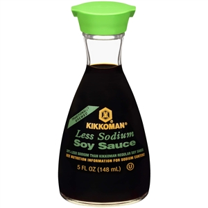 Soy Dispenser Less Sodium Kikkoman - 5 Fl. Oz.